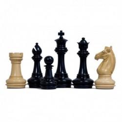 Pièces d'échecs Staunton Meghdoot noires