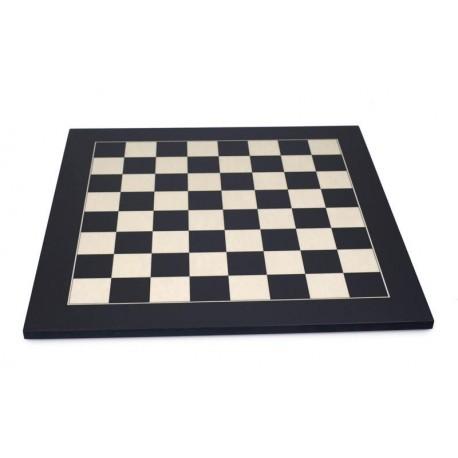 Echiquier érable noir (cases 55 mm)