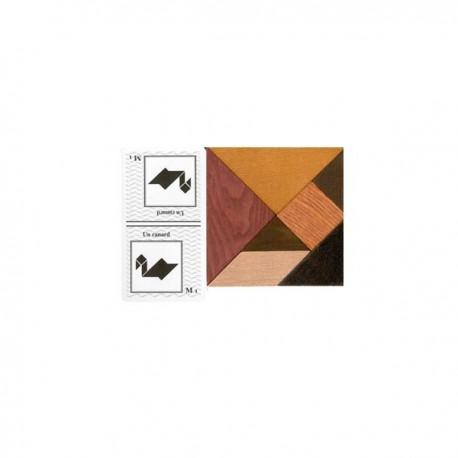 Coffret double tangram