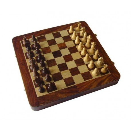 Echecs / Backgammon Palissandre 25cm