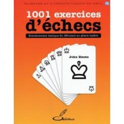 1001 Exercices d'échecs - Emms