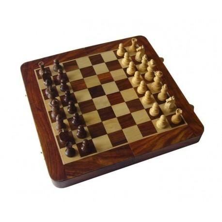 Echecs / Backgammon Palissandre 30cm