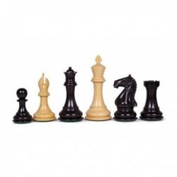 Pièces d'échecs Chess Master ébène