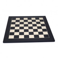 Tablero de ajedrez de arce negro (casillas 45 mm)