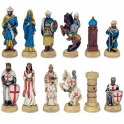 Pièces d'échecs Croisés-Sarrazins N°3