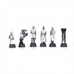 Pièces d'échecs Templiers N°3