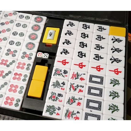 Mahjong Classic Club Yellow Back