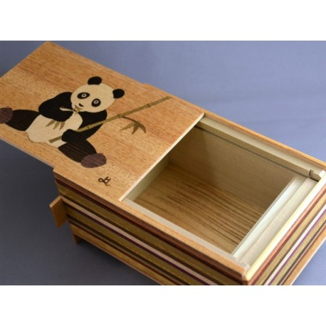 Himitsu-Bako 5 Sun 21 Steps Panda