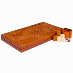 Backgammon XXL - Acajou