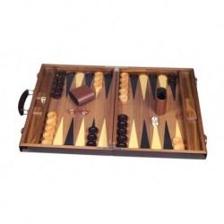 Backgammon Deluxe Bois