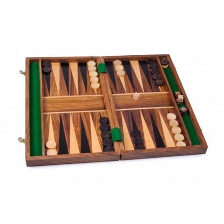 Backgammon en sheesham, moyen modèle