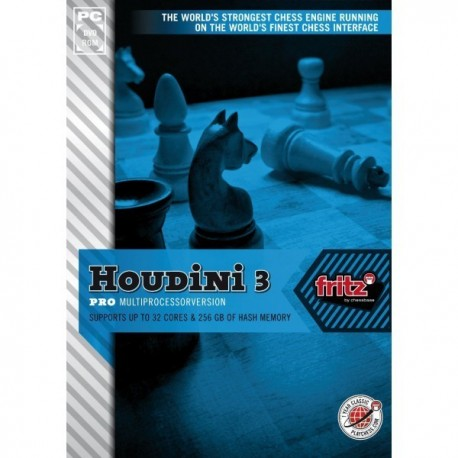 Houdini 3.0 standard multiprocesseur DVD