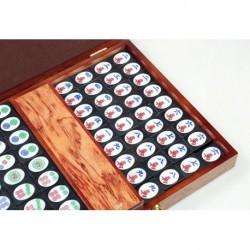 Grand Mahjong en ébène