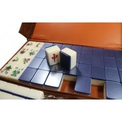 Mahjong Bleu 3 joueurs