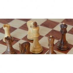 Jeu d'échecs Style Russe Bois de Rose T3
