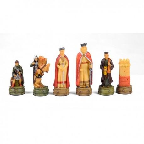 Figurines échecs Médiéval N°3